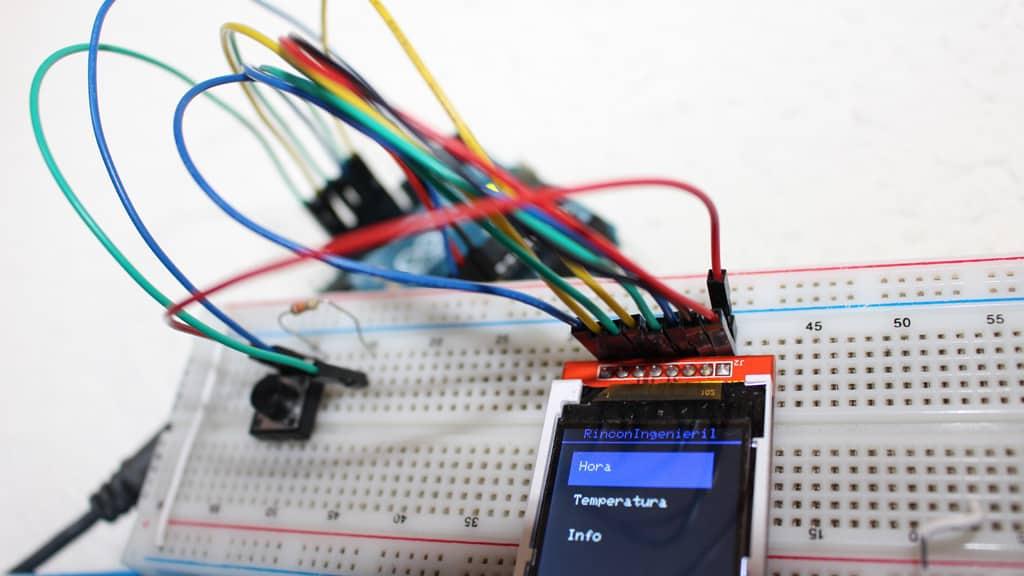 Crear un Menú interactivo con TFT LCD