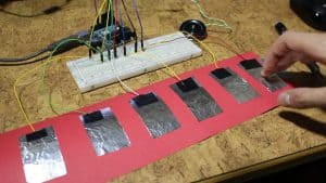 Lee más sobre el artículo Sensor capacitivo DIY para Arduino