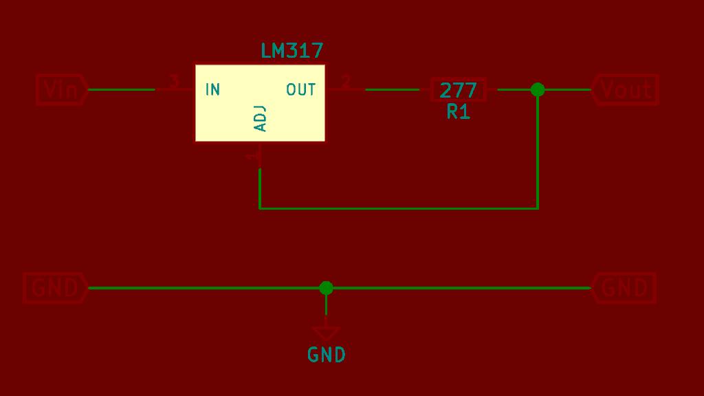 lm317 limitador de corrietne