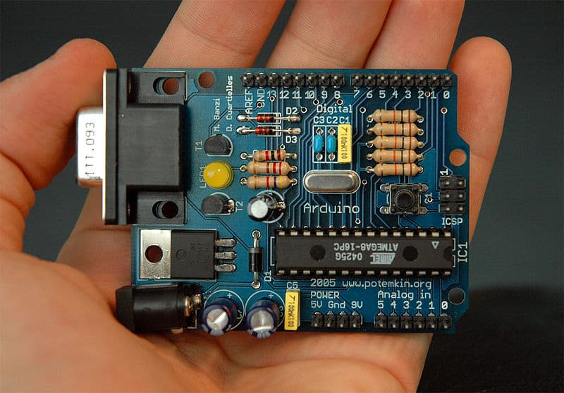 Arduino By: Nicholas Zambetti License: CC By SA 3.0