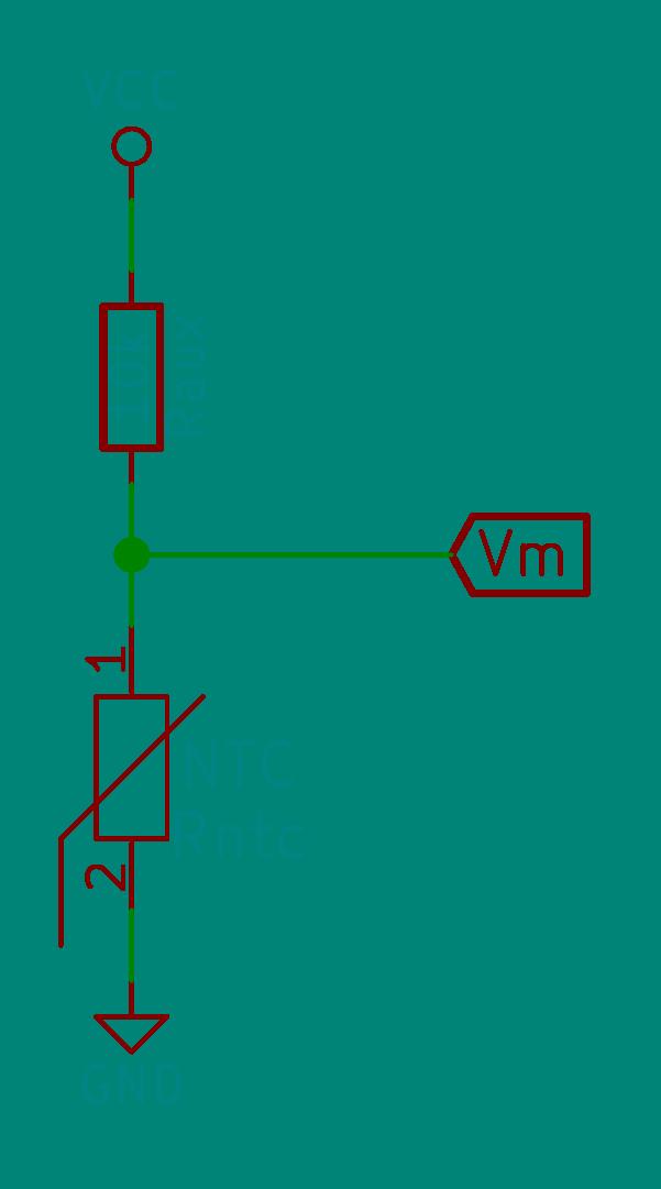 NTC en circuito potenciométrico