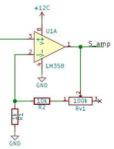 Calculo del amplificador para vúmetro con lm3915