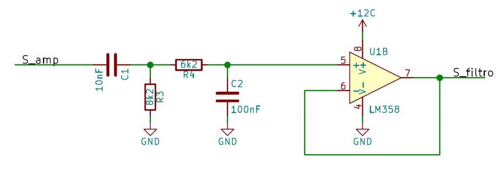 Filtro en vumetro LED con lm3915