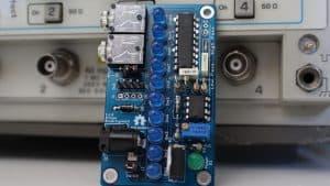 Vúmetro con lm3915 y LED por etapas