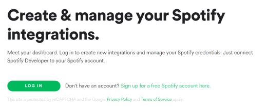 Crear una cuenta de desarrollador en Spotify